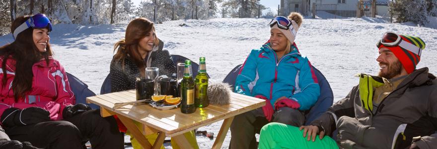 pension complète au ski